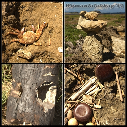 These are some stuffs that you'll encounter while going to the rock formations.